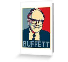 Warren Buffett Greeting Card