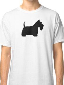 Scottish Terrier Silhouette(s) Classic T-Shirt