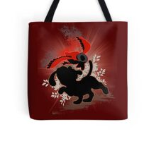 Super Smash Bros. Red Duck Hunt Silhouette Tote Bag