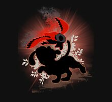 Super Smash Bros. Red Duck Hunt Silhouette T-Shirt