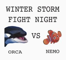 Orca vs Nemo by riskeybr