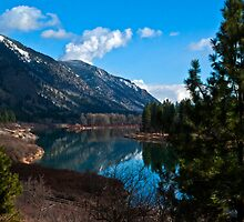 The Clark Fork in February by Bryan D. Spellman