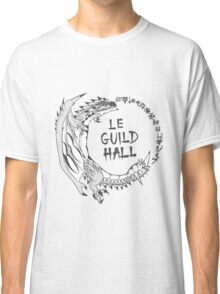 Monster Hunter Le Guild Hall-Silver Rathalos Colored Classic T-Shirt