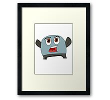 Brave Little Toaster Framed Print