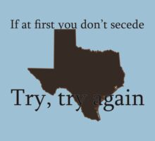 Secession - Texas Tee Kids Clothes