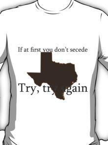Secession - Texas Tee T-Shirt