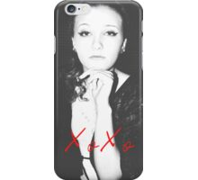 Back to Black iPhone Case/Skin