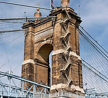 John A. Roebling Suspension Bridge by Alex Preiss