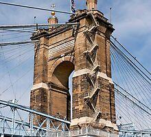 John A. Roebling Suspension Bridge by Alex Preiss