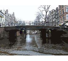 Bridges in Amsterdam Photographic Print