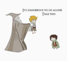 It's Dangerous to Go Alone. Take this. by HeyItsShay