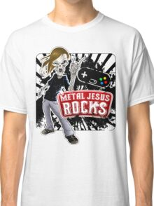 Undead Rocker - Metal Jesus Rocks Classic T-Shirt