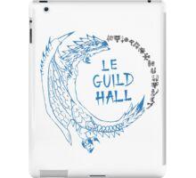 Monster Hunter Le Guild Hall-White Reusu iPad Case/Skin