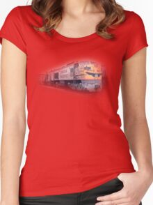 union pacific Women's Fitted Scoop T-Shirt