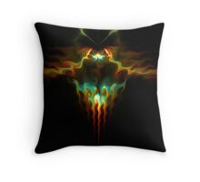 Firebug Throw Pillow