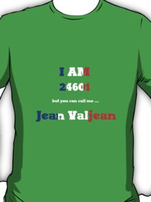 24601 Les Miserables T-Shirt