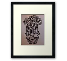 Blossoming Mind  Framed Print