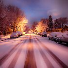 High St. Snow by Adam Northam