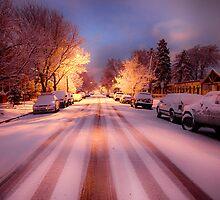 High St. Snow by Adam Northam