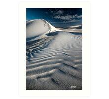 Dune Drifts Art Print
