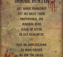 Freelance Zombie Hunter by Charlotte Poe