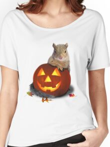 Halloween Squirrel Women's Relaxed Fit T-Shirt