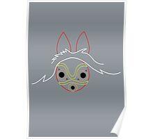Minimalist Mononoke Poster