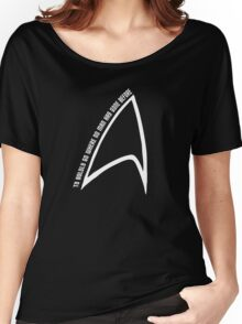 To boldly go... Women's Relaxed Fit T-Shirt