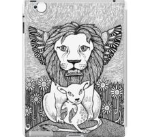 And So The Lion Fell in Love with The Lamb iPad Case/Skin