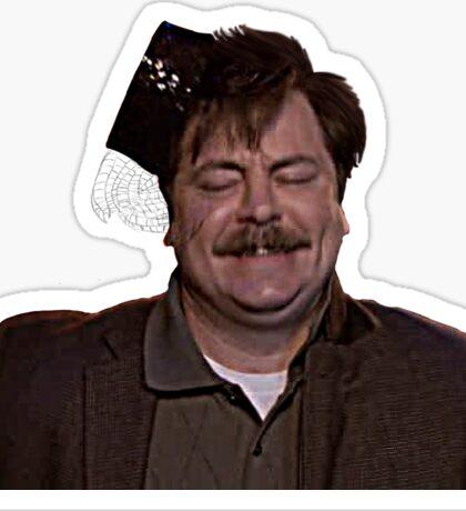 Ron Swanson- Dancing Sticker