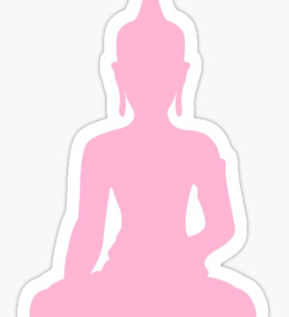 Pastel Candy Buddha Sticker