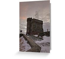 Cabot Tower On Signal Hill © Greeting Card