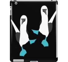 Blue Footed BOOBIES!!!! iPad Case/Skin