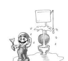 Plumber? by Tony Heath