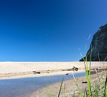 Waipatiki Beach Estuary, Hawke's Bay, NZ by SeeOneSoul
