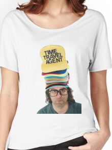 30 Rock 'Frank The Hat Guy' Women's Relaxed Fit T-Shirt