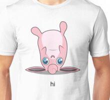 Derpy Wigglytuff Says Hello Unisex T-Shirt
