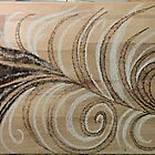 Ballerina's first step Pyrography by WRoss