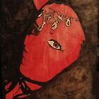True red head Pyrography by WRoss