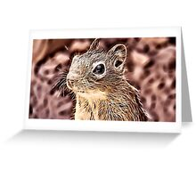 Wild nature - squirrel Greeting Card