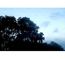 Soft silhouette Photographic Print
