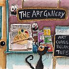 The Art Gallery by StressieCat