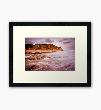Bells Beach Southside Framed Print
