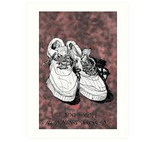my old running shoes...  Art Print