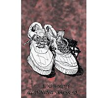 my old running shoes...  Photographic Print