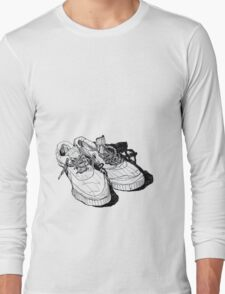 my old running shoes...  Long Sleeve T-Shirt