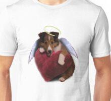 Sheltie Puppy Angel Unisex T-Shirt
