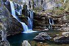 Cave Creek Falls .Bimberi Wilderness by Donovan Wilson