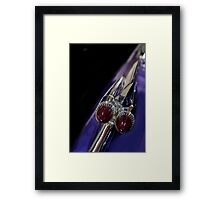 Purple Bullet Framed Print
