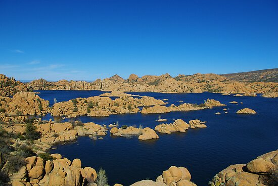Watson Lake, Arizona by Claudio Del Luongo